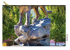 The Cougar Pride Sculpture Carry-all Pouch
