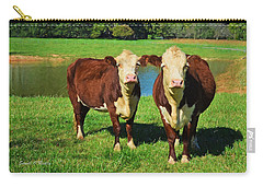 The Cow Girls Carry-all Pouch