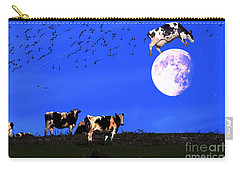 The Cow Jumped Over The Moon Carry-all Pouch