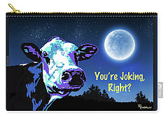 The Cow Jumps Over The Moon Carry-all Pouch