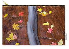 Carry-all Pouch featuring the photograph The Crack by Patricia Davidson