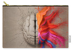 The Creative Brain Carry-all Pouch by Johan Swanepoel