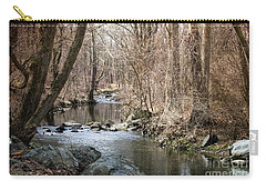 Carry-all Pouch featuring the photograph The Creek by Judy Wolinsky