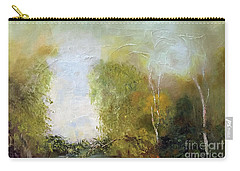 Carry-all Pouch featuring the painting The Creek by Marlene Book
