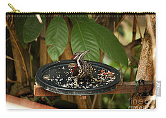 The Crimson-backed Flameback Carry-all Pouch