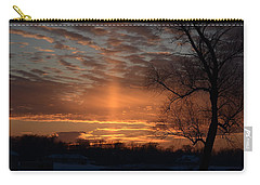 The Cross In The Sunset Carry-all Pouch