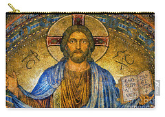 Carry-all Pouch featuring the digital art The Cross Of Christ by Ian Mitchell