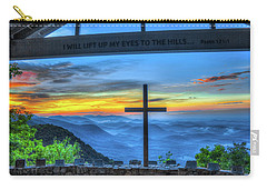 The Cross Sunrise At Pretty Place Chapel Carry-all Pouch