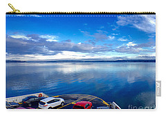 Carry-all Pouch featuring the photograph The Crossing by Sean Griffin