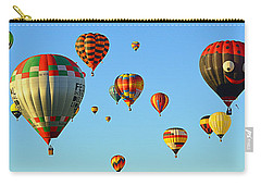 Carry-all Pouch featuring the photograph The Crowded Skies by AJ Schibig