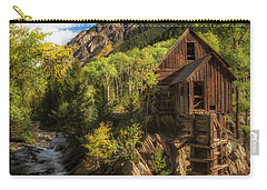 The Crystal Mill Carry-all Pouch