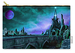 The Crystal Palace - Nightwish Carry-all Pouch by James Christopher Hill
