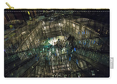 Carry-all Pouch featuring the photograph The Crystal Station by Alex Lapidus