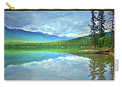 Carry-all Pouch featuring the photograph The Crystal Waters Of Lake Annette by Tara Turner