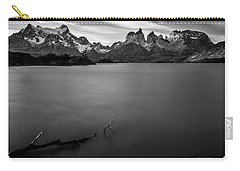 The Cuernos And Lake Pehoe - Patagonia Carry-all Pouch