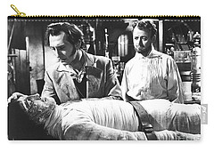 The Curse Of Frankenstein 1957 Baron Victor Frankenstein Carry-all Pouch