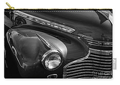 Carry-all Pouch featuring the photograph The Curve Of The Fender by Kirt Tisdale