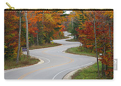 The Curvy Road Carry-all Pouch by Greta Larson Photography