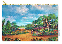 The Cycle Of Life Carry-all Pouch by Randy Burns