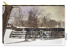 The Dam At Christmas Carry-all Pouch