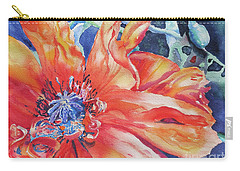 Carry-all Pouch featuring the painting The Dance by Mary Haley-Rocks
