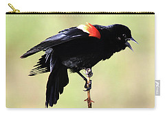 Carry-all Pouch featuring the photograph The Dance by Shane Bechler