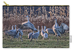 Carry-all Pouch featuring the photograph The Dance by Shari Jardina