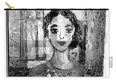 The Dancer In Black N White Carry-all Pouch