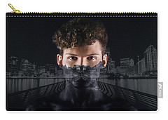 The Dark Side Of A City Boy Carry-all Pouch