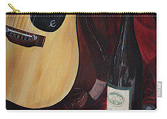 Carry-all Pouch featuring the painting The Dark Times by Kim Lockman