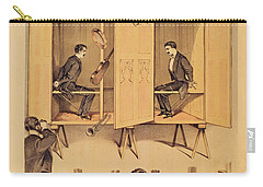 The Davenport Brothers Carry-all Pouch by English School