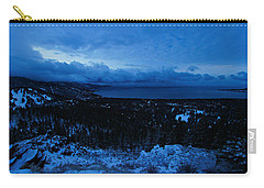 The Dawn Of Winter Carry-all Pouch by Sean Sarsfield