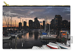 The Day Ends At The Marina Carry-all Pouch
