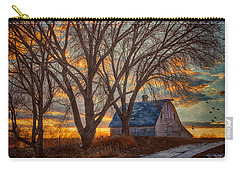The Day's Last Kiss Carry-all Pouch by Nikolyn McDonald