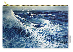 The Deep Blue Sea Carry-all Pouch by Eileen Patten Oliver