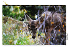 The Deer Carry-all Pouch by Nature Macabre Photography
