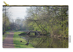 The Delaware Canal - Morrisville Pennsylvania Carry-all Pouch by Bill Cannon