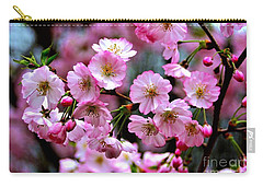 The Delicate Cherry Blossoms Carry-all Pouch