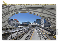 Carry-all Pouch featuring the photograph The Denver Union Station by Tim Stanley