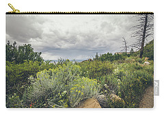 Carry-all Pouch featuring the photograph The Desert Comes Alive by Margaret Pitcher