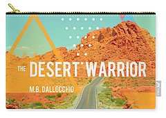 The Desert Warrior Book Cover Carry-all Pouch