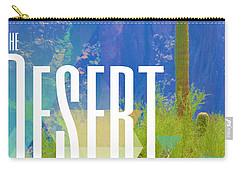 The Desert Warrior Poster Iv Carry-all Pouch