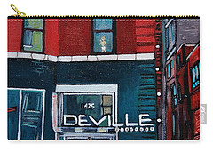 The Deville Carry-all Pouch by Reb Frost