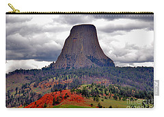 The Devils Tower Wy Carry-all Pouch