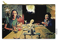The Dinner Scene - Texas Chainsaw Carry-all Pouch by Taylan Apukovska