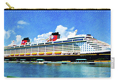 The Disney Dream In Nassau Carry-all Pouch