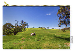 Carry-all Pouch featuring the photograph The Distant Hill by Douglas Barnard