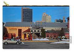 Carry-all Pouch featuring the photograph The Docks by Michiale Schneider
