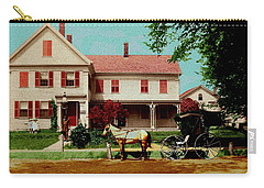 The Doctor Heads Out On A House Call Carry-all Pouch