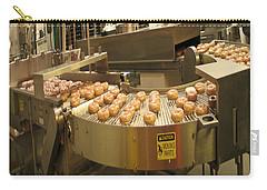 The Doughnut Machine Carry-all Pouch by Carol F Austin